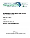 Watershed Characterization Report
